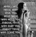 Appreciate ThoseWho